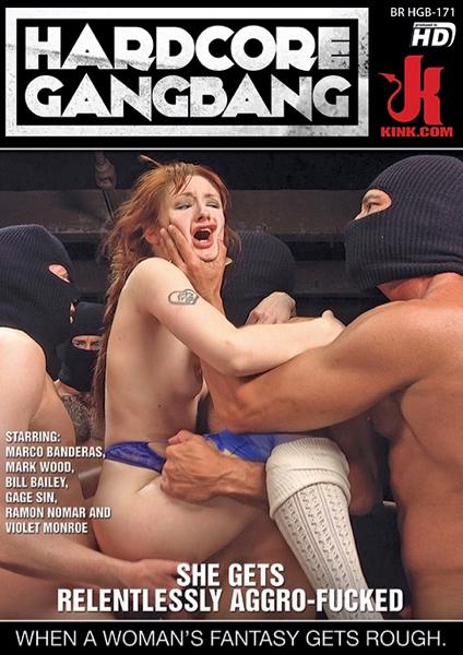 Hardcore Gangbang She Gets Relentlessly Aggro Fucked