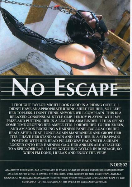 No Escape - Taylor Leather Fun