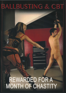 Ballbusting & CBT - Rewarded for a month of Chastity