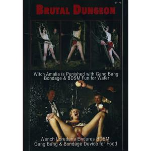 Brutal Dungeon - Amalia is Punished with gangbang & bdsm