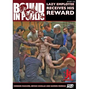 Bound in Public - Lazy Employee Receives His Reward