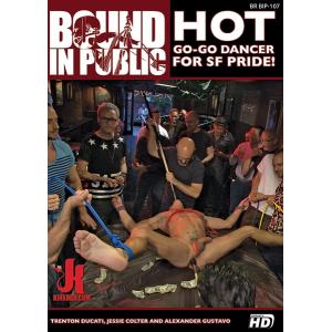 Bound in Public - Hot Go-Go Dancer for SF Pride!