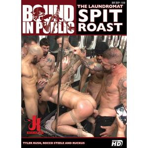 Bound in Public - The Laundromat Spit Roast