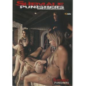 Shemale Punishers - Hard Fuck with Bondage