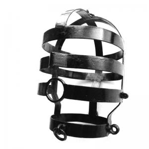 Head Cage - Large - Black Coated