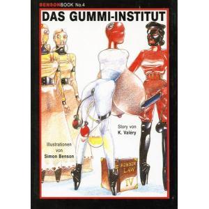 Bensonbook No.4 - Das Gummi Institut
