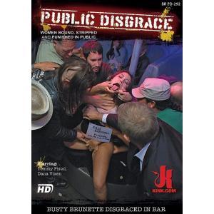 Public Disgrace - Busty Brunette Disgraced In Bar