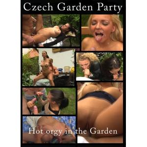 Hot Orgy In The Garden