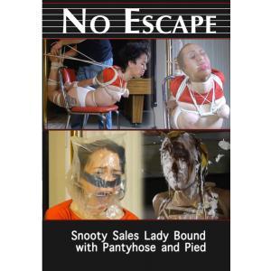 No Escape - Snooty Sales Lady Bound