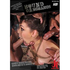 Bound Gangbangs - Kimber Woods Breaks Down and gets Banged up