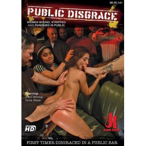 First Timer Disgraced in a public bar