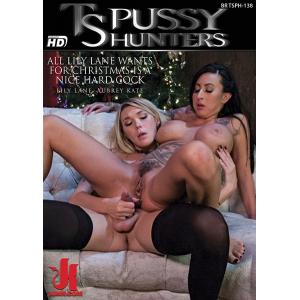 TS Pussy Hunters - All Lily Lane Wants for Christmas is a nice hard cock