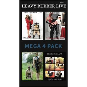 Heavy Rubber Live - Mega4Pack