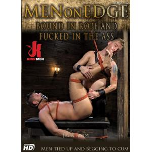 Men on Edge - Bound In Rope and Fucked in The Ass