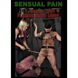 Master Tracy Flogging slave Larry