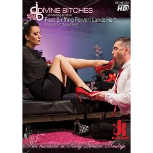 Divine Bitches - Foot Sniffing pervert lance hart