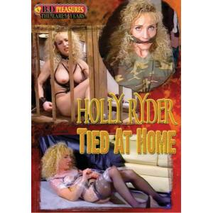 B&D Pleasures - Holly RIder Tied at Home