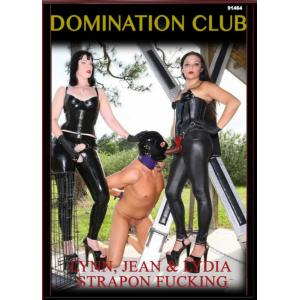 Domination Club - Lynn, Jean & Lydia Strapon Fuck