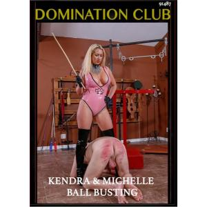 Domination Club - Kendra & Michelle Ball Busting