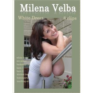 Milena Velba - White Dress