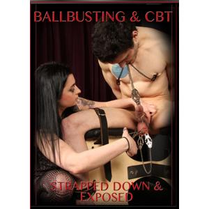 Ballbusting & CBT - Strapped Down & Exposed