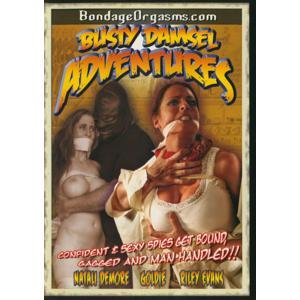 Bondage Orgasms - Busty Damsel Adventures